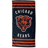 "The Northwest Chicago Bears 30"" x 60"" Striped Beach Towel"