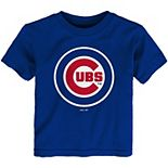 Toddler Royal Chicago Cubs Team Primary Logo T-Shirt