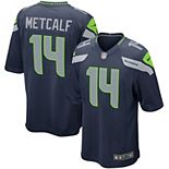 DK Metcalf Seattle Seahawks Nike Game Jersey - Navy