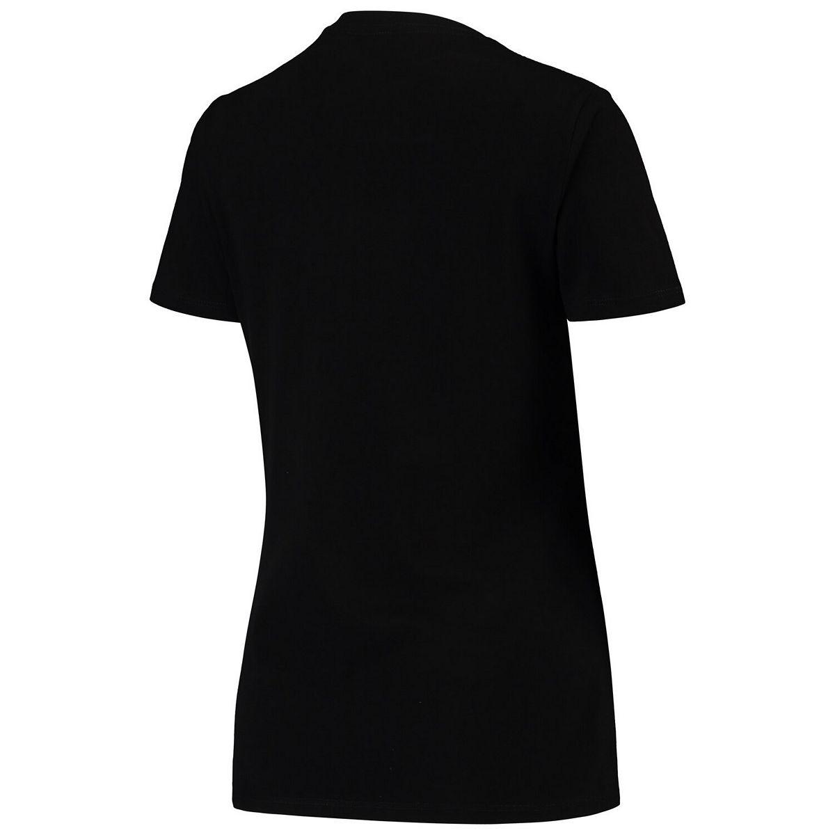 Women's G-III 4Her by Carl Banks Black New York Jets NFL 100th Season Fair Catch V-Neck T-Shirt 19V8o