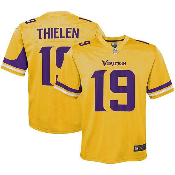 Adam Thielen Minnesota Vikings Game Jersey