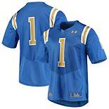 Men's Under Armour #1 Blue UCLA Bruins Team Replica Football Jersey