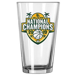 Baylor Bears 2019 NCAA Women's Basketball National Champions 16oz. Satin Etch Pint Glass
