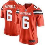 Men's Nike Baker Mayfield Orange Cleveland Browns Game Jersey