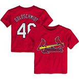 Toddler Majestic Paul Goldschmidt Red St. Louis Cardinals Player Name & Number T-Shirt