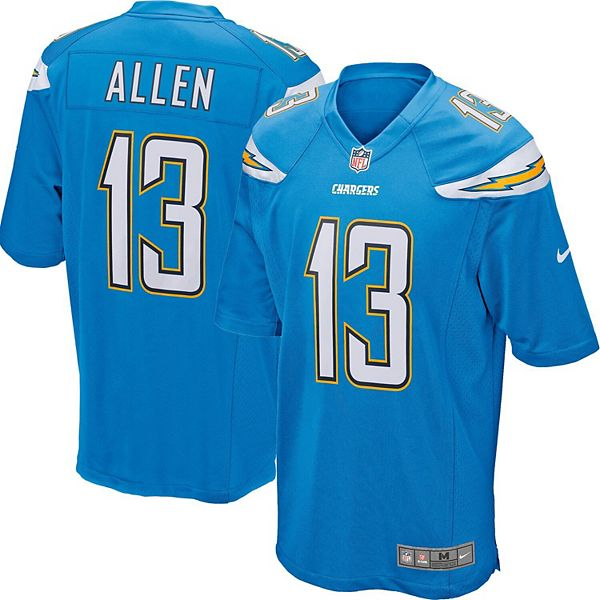 Keenan Allen Los Angeles Chargers Nike Youth Game Jersey - Powder Blue