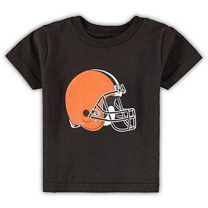 Infant Brown Cleveland Browns Team Logo T-Shirt