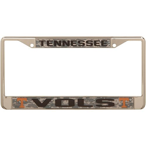Tennessee Volunteers Digital Camo Acrylic Inlay License Plate Frame