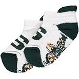 Infant Michigan State Spartans Footie Socks