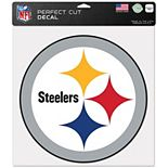 """WinCraft Pittsburgh Steelers 12"""" x 12"""" Perfect Cut Decal"""