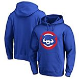 Chicago Cubs Fanatics Branded Cooperstown Collection Huntington Pullover Hoodie - Royal
