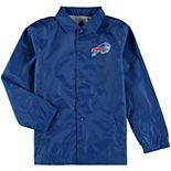 Youth Royal Buffalo Bills Bravo Coach Jacket