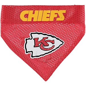 Kansas City Chiefs Reversible Pet Bandana