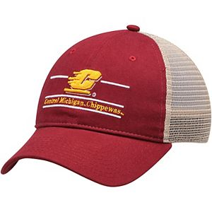White, Tulane Green Wave Adult Game Bar Adjustable Hat