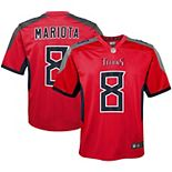 Youth Nike Marcus Mariota Red Tennessee Titans Inverted Game Jersey