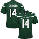 Girls Youth Nike Sam Darnold Gotham Green New York Jets Game Jersey