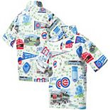 Youth Reyn Spooner White Chicago Cubs Scenic Button-Up Shirt