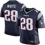 Men's Nike James White Navy New England Patriots Game Jersey