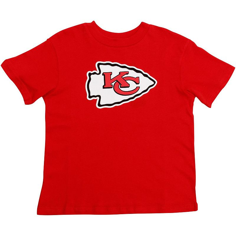 Kansas City Chiefs Preschool Team Logo T-Shirt - Red. Kids Unisex. Size: 4