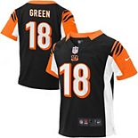 Toddler Cincinnati Bengals AJ Green Nike Black Game Jersey