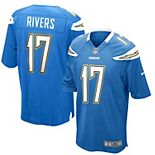 Mens Los Angeles Chargers Philip Rivers Nike Powder Blue Alternate Game Jersey