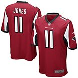 Youth Atlanta Falcons Julio Jones Nike Red Team Color Game Jersey