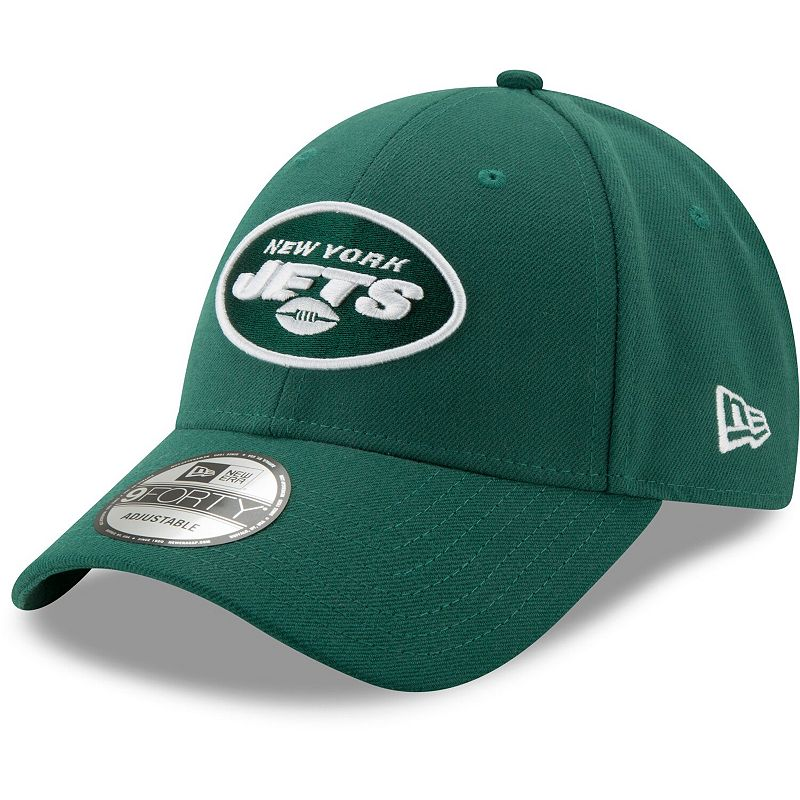 New York Jets New Era Youth NFL The League 9FORTY Adjustable Hat - Green
