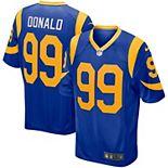 Men's Nike Aaron Donald Royal Los Angeles Rams Player Game Jersey