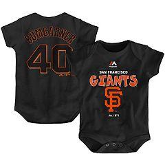 San Francisco Giants Orange Alternate Cool Base Romper Jersey 0-3 Months