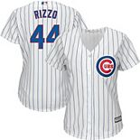 Women's Majestic Anthony Rizzo Chicago Cubs White Official Cool Base Player Jersey
