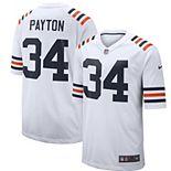 Men's Nike Walter Payton White Chicago Bears 2019 Alternate Classic Retired Player Game Jersey
