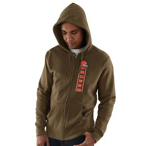 Men's Brown Cleveland Browns Hook and Ladder Full-Zip Hoodie