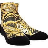 Youth Southern Miss Golden Eagles Logo Sketch Quarter-Length Socks