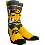 Women's Iowa Hawkeyes Mascot Crew Socks