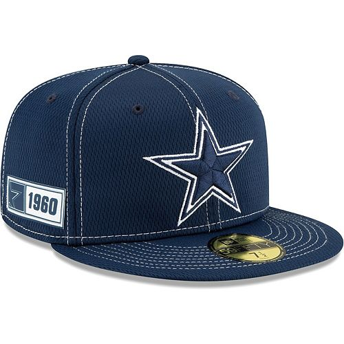 great prices special for shoe how to buy Men's New Era Navy Dallas Cowboys 2019 NFL Sideline Road ...