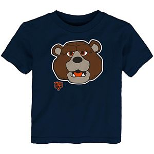 huge discount a32ed 98139 Toddler Chicago Bears Navy Blue Team Logo T-Shirt