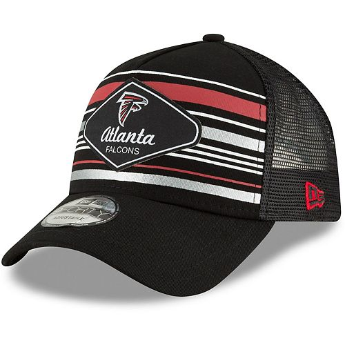Men's New Era Black Atlanta Falcons Mavericks A-Frame 9FORTY Adjustable Snapback Hat