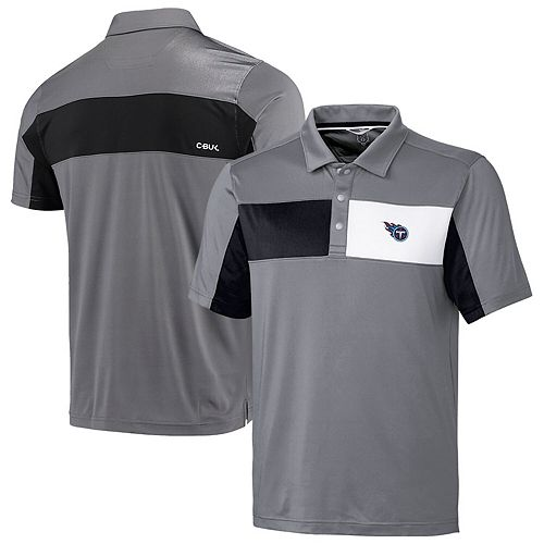 Tennessee Titans CBUK by Cutter & Buck Logan Polo  Gray