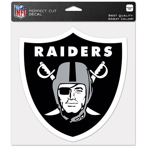 """WinCraft Oakland Raiders 12"""" x 12"""" Perfect Cut Decal"""