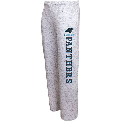 Men's Concepts Sport Heathered Gray Carolina Panthers Alley Space Dye Pants