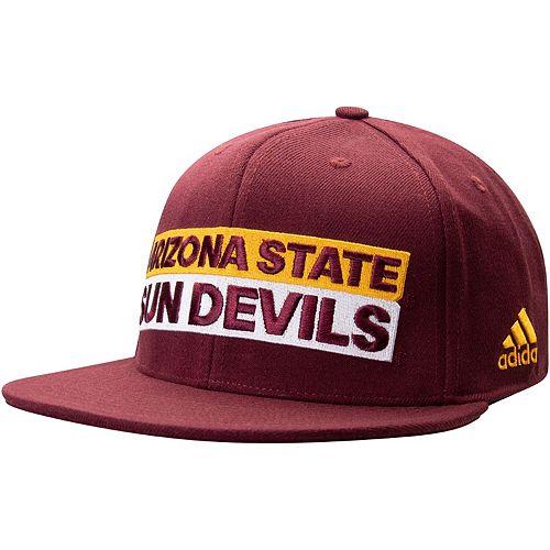Men's adidas Maroon Arizona State Sun Devils Box Flex Hat