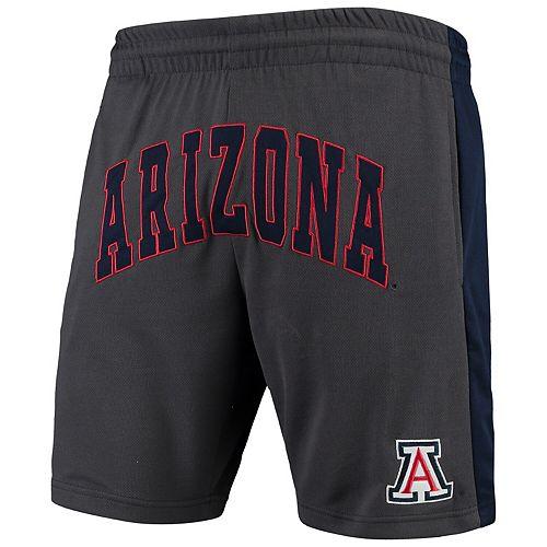 Men's Colosseum Charcoal Arizona Wildcats Motion Shorts