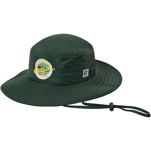 Men's The Game Green Oregon Ducks Everyday Ultralight Boonie Bucket Hat