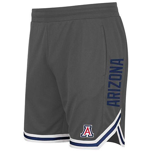 Men's Colosseum Charcoal Arizona Wildcats Continuity Shorts