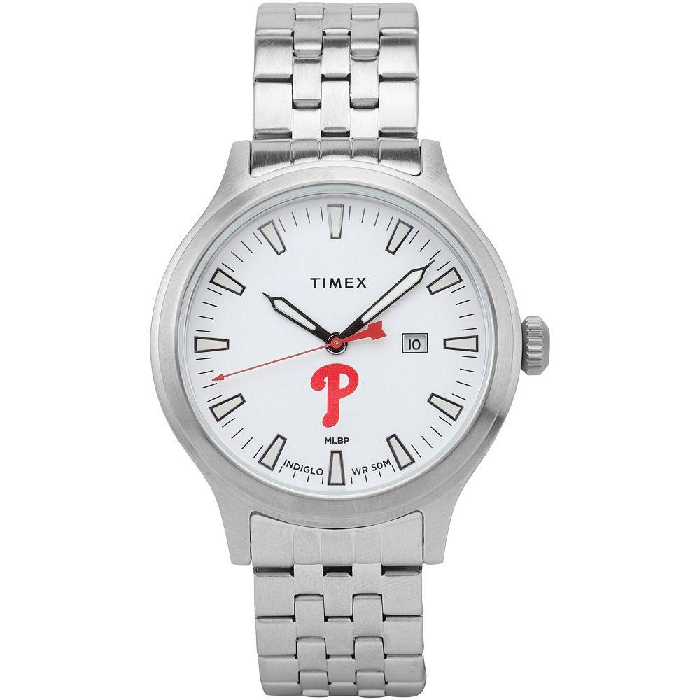 Men's Timex Philadelphia Phillies Top Brass Watch