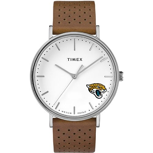 Timex Jacksonville Jaguars Bright Whites Tribute Collection Watch
