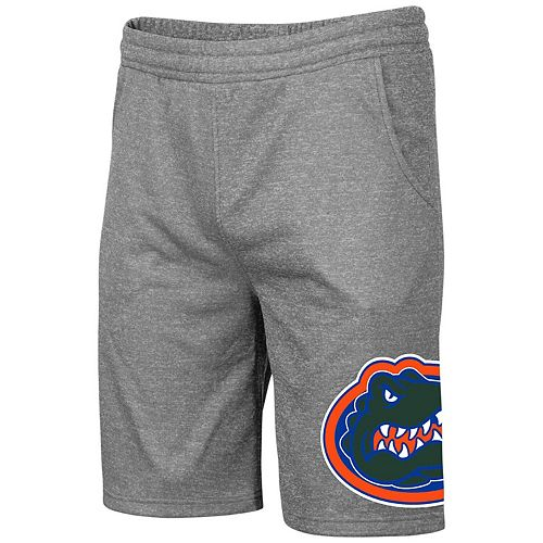 Men's Colosseum Heathered Gray Florida Gators Big & Tall Seymour Shorts