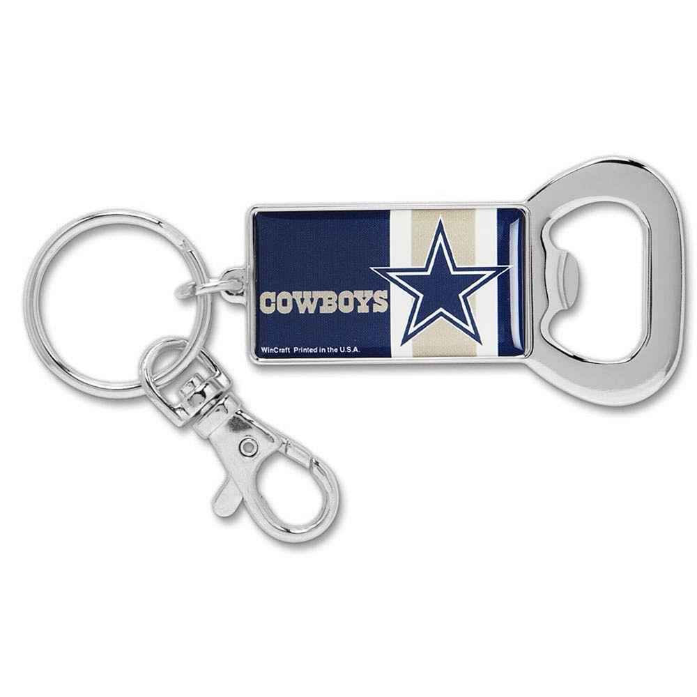 Dallas Cowboys WinCraft Bottle Opener Key Ring Keychain