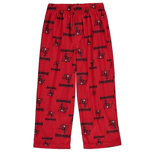 Tampa Bay Buccaneers Preschool Allover Logo Printed Pants - Red