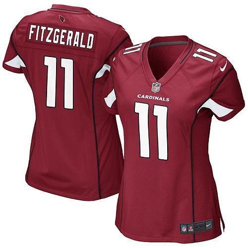 Girls Youth Arizona Cardinals Larry Fitzgerald Nike Cardinal Replica Game Jersey